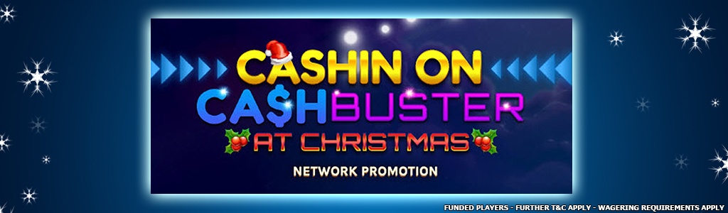 Cash Buster Cross Network Slot Tournament banner