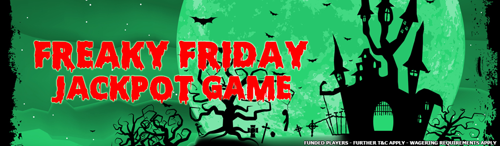 Freaky Friday Jackpot Game banner
