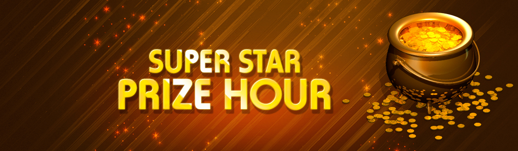 SuperStar Prize Hour banner