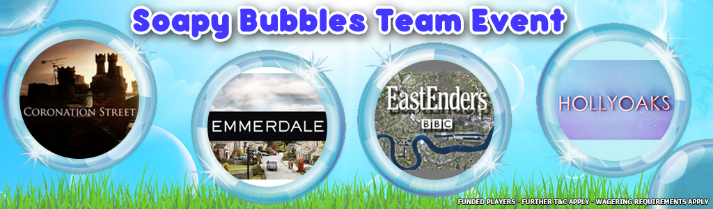 Soapy Bubbles Team Event banner