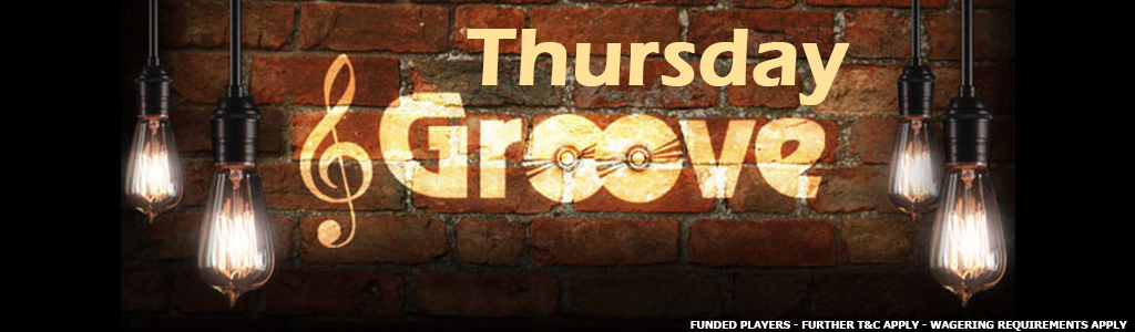 Thursday Groove Jackpot Game banner