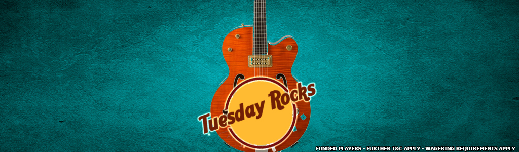 Tuesday Rocks Jackpot Game banner